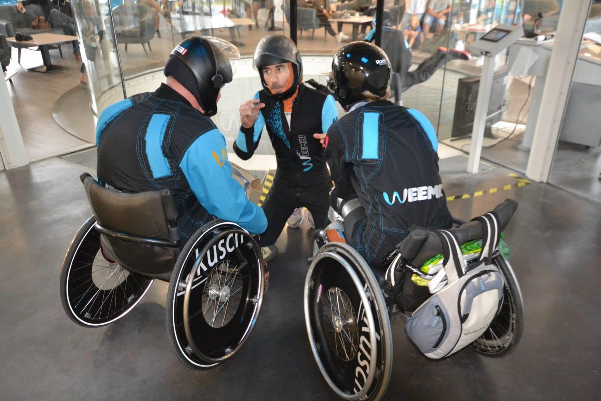 WEEMBI, partenaire du Handifly Euro Challenge