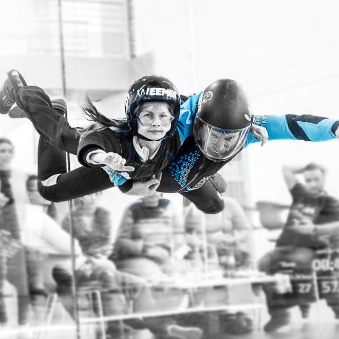 Simulateur de chute libre, indoor skydiving, à Lille, Proche de la Belgique